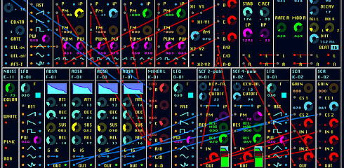 herw MODULAR MINI 2 | Entry | Reaktor User Library