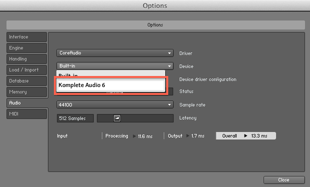 Audio interface how to use rocksmith14 no audio output selected