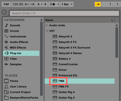 how to download a plugin on ableton 9