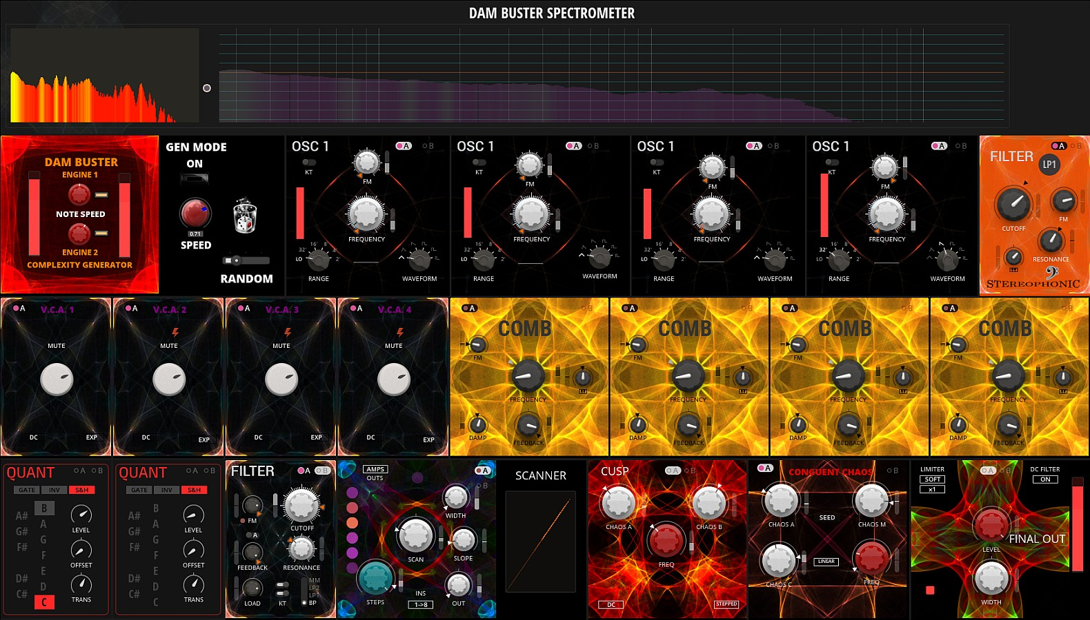 DAM BUSTER | Entry | Reaktor User Library