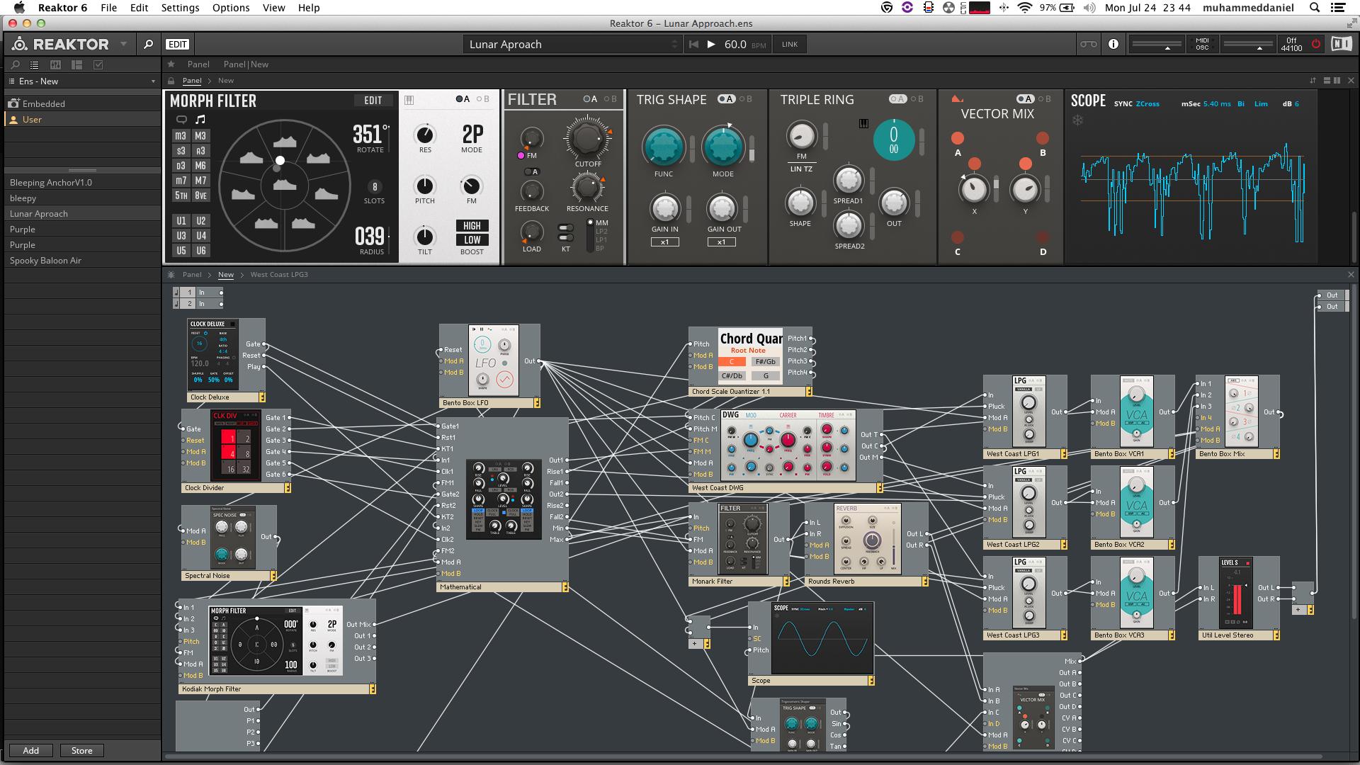 DJ Daniel - Experimental Sound Scapes Vol. 1
