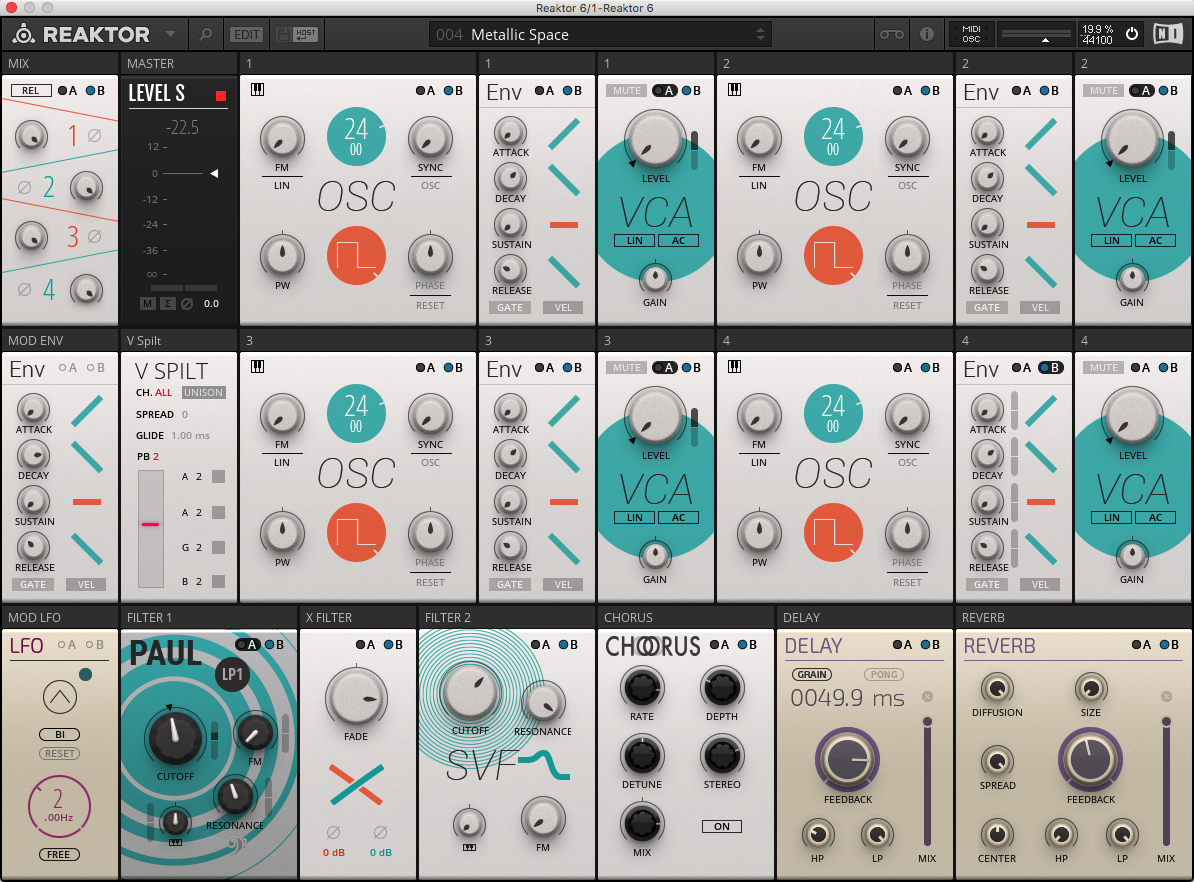 Poly Pad v1 0 | Entry | Reaktor User Library