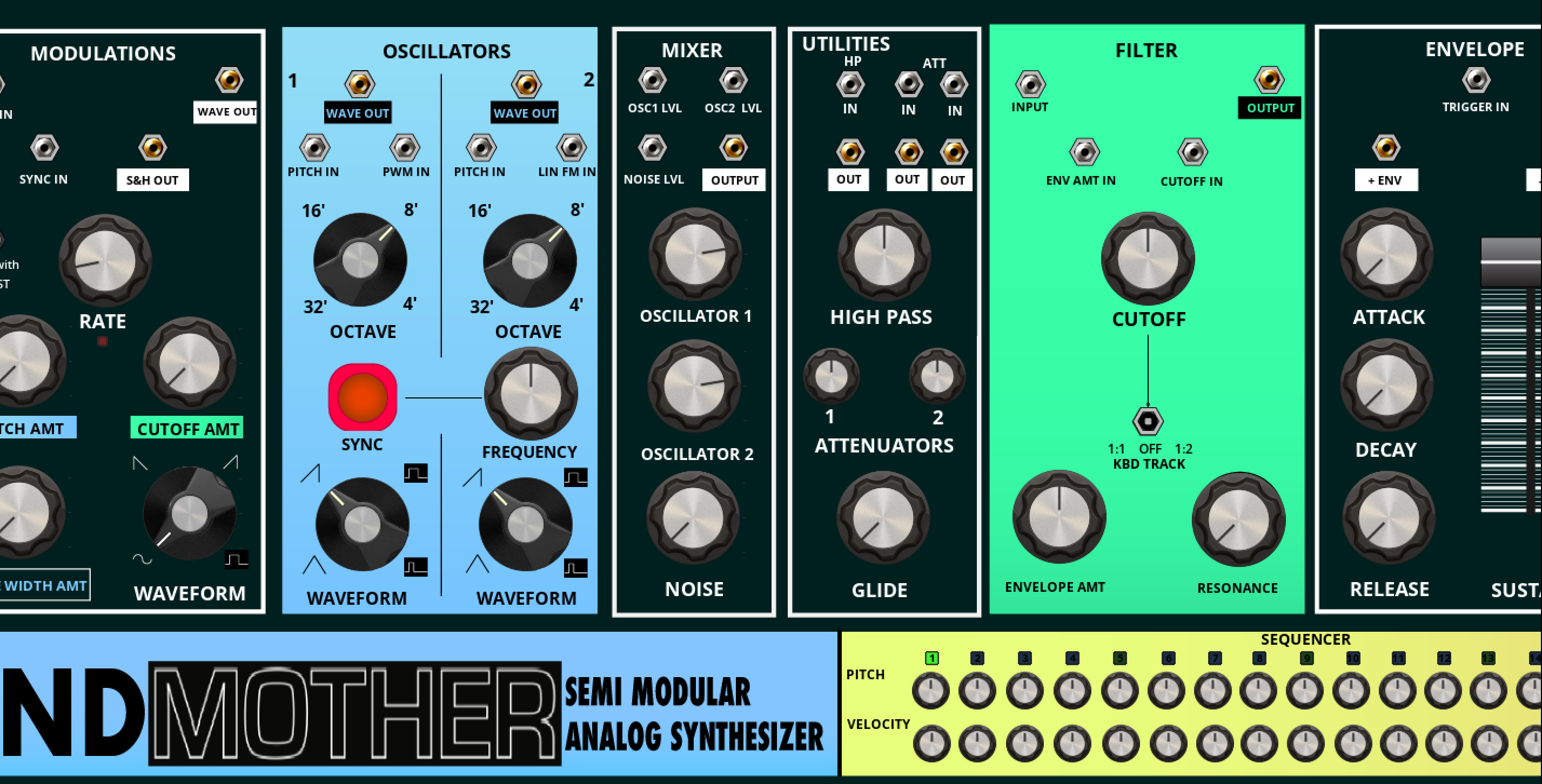 Grandmother Beta Entry Reaktor User Library Electronics Technology 02 08 12 Semi Modular Analog Synthesizer With A Built In Arpeggiator