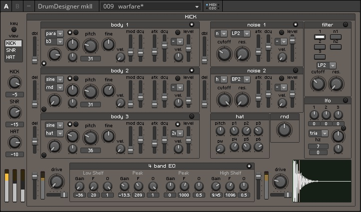 DrumDesigner mkII | Entry | Reaktor User Library