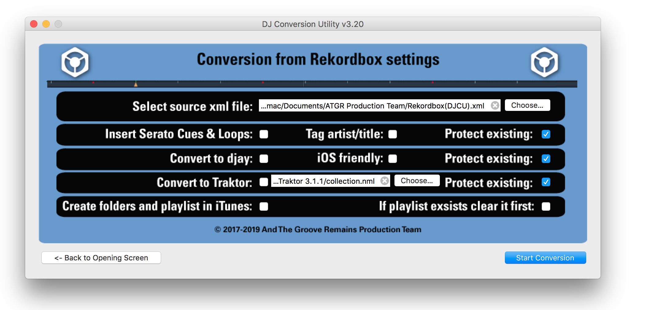 MacOS only] From Rekordbox to Traktor added to the DJ