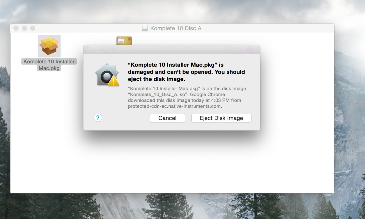 K10 won't install - CD or ISO on OSX | NI Community Forum