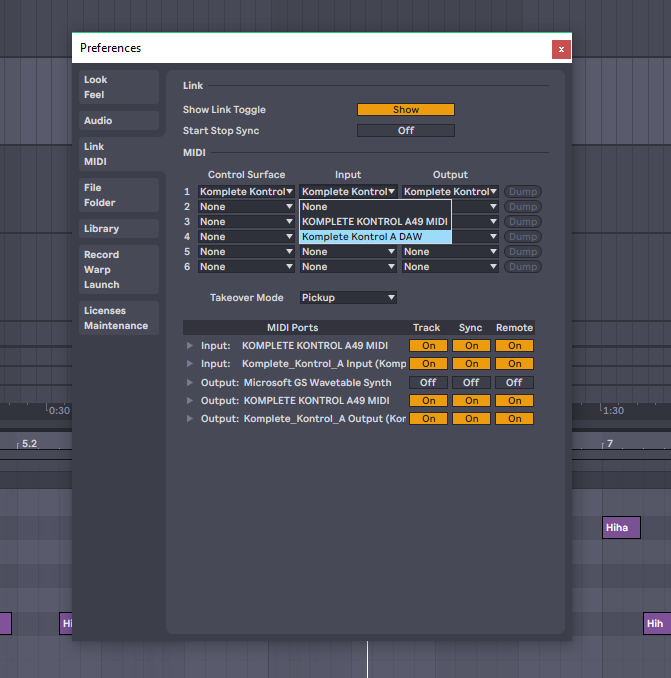 Solved - Komplete Kontrol A49 Ableton live control issues