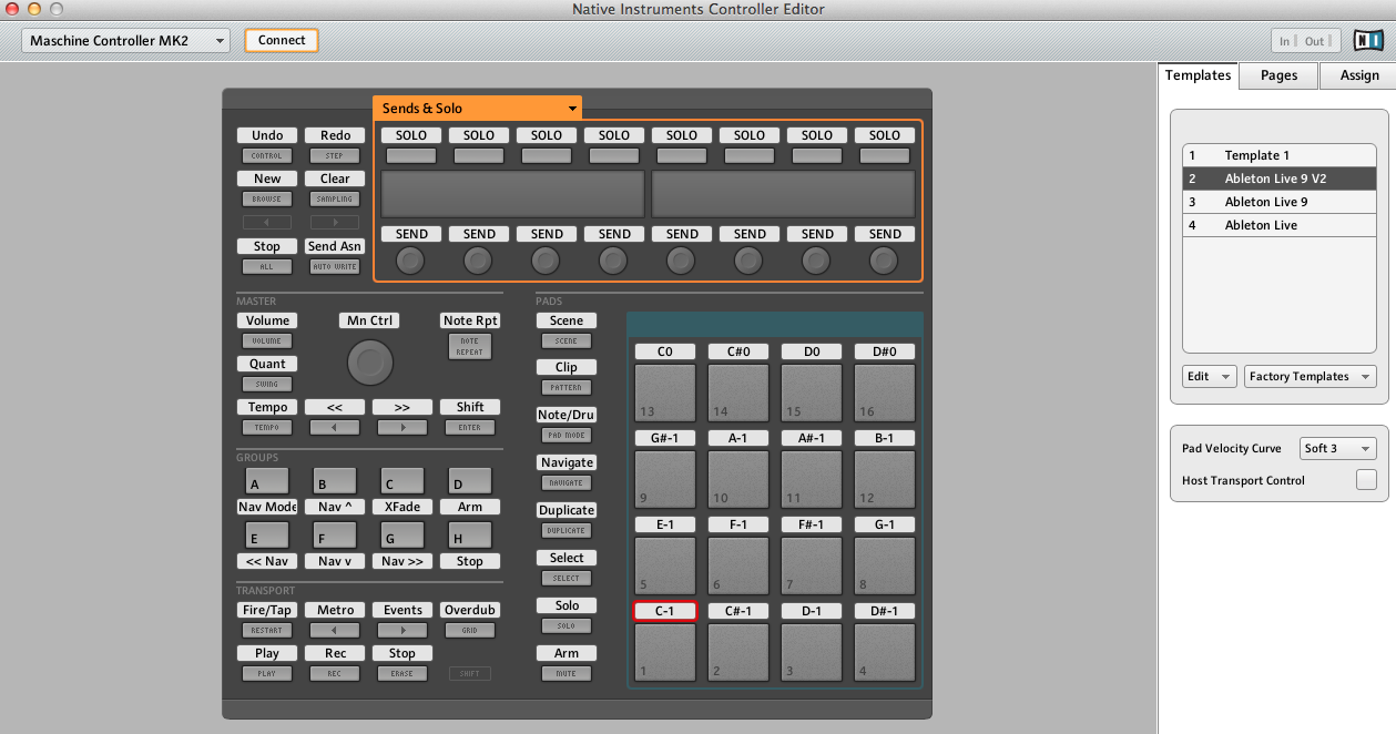 maschine mk2 template not working in ableton live 9