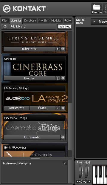 Your before library this to kontakt be new instrument be used added needs can this instrument