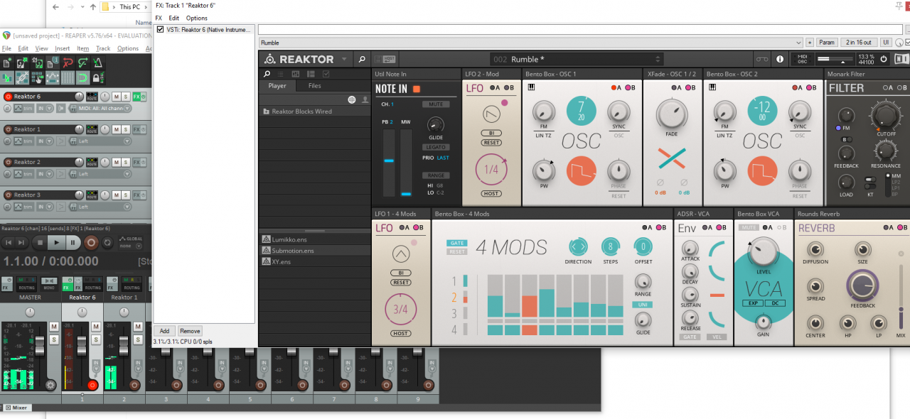 Reaktor Player No Audio Output (Can't hear anything!)   NI