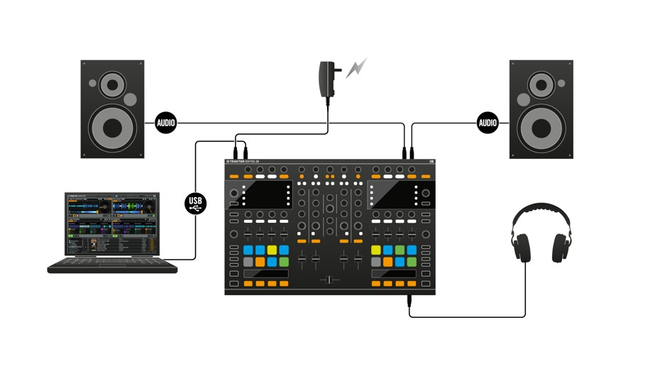 Kontrol S8 Flagship All In One Dj Controller Tom Lee Music