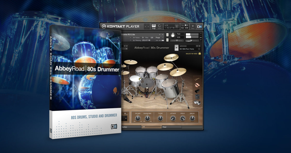 Native Instruments Abbey Road 50s Drummer Kontakt Torrent