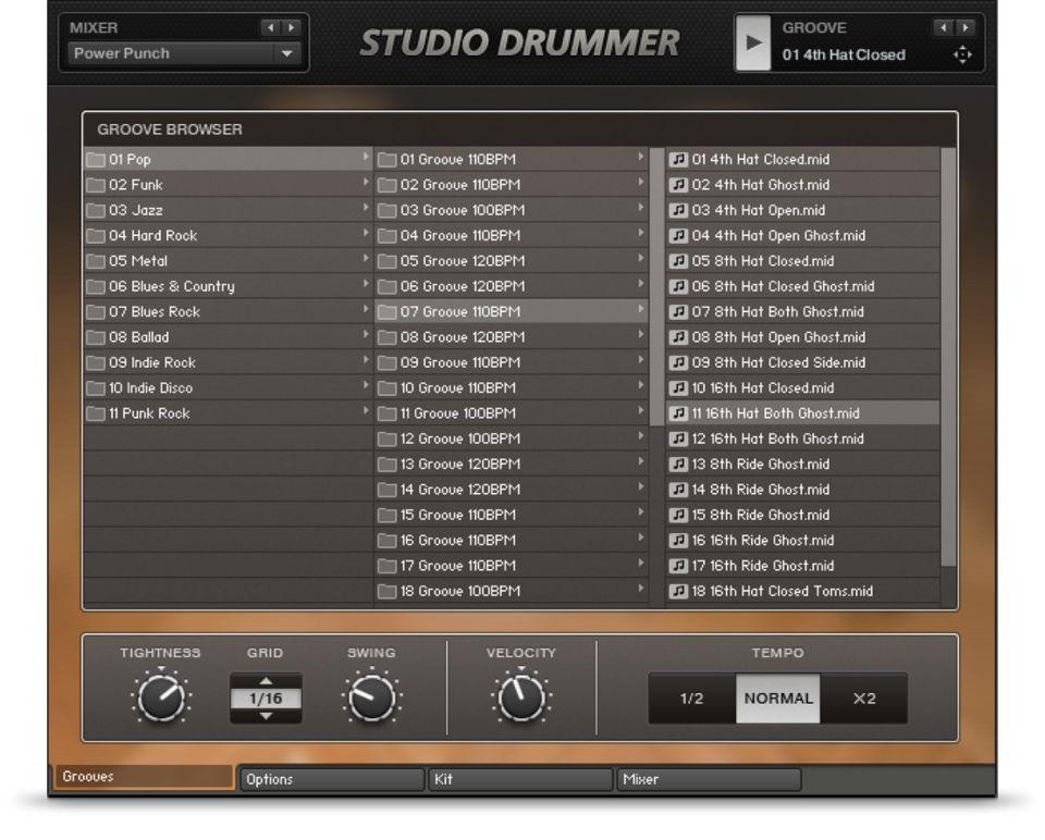 Komplete : Drums : Studio Drummer : The Drummer   Products