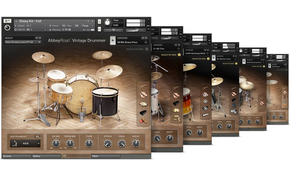 Komplete : Drums : Abbey Road Drummer Collection | Products