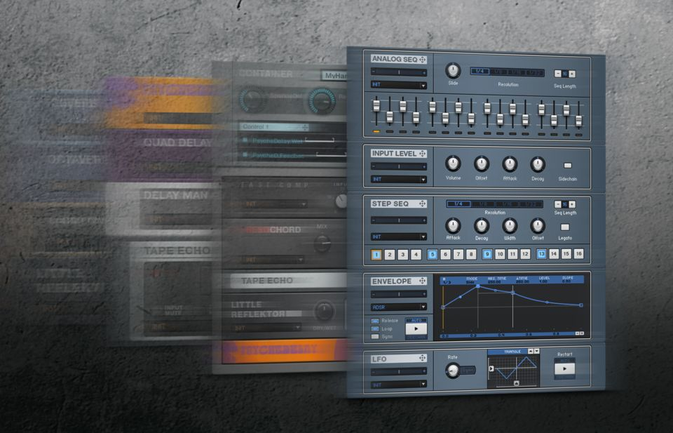 Komplete : Guitar : Guitar Rig 5 Pro : Effects And Tools