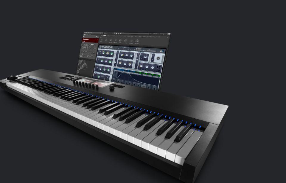 Komplete : Keyboards : Komplete Kontrol S88   Products