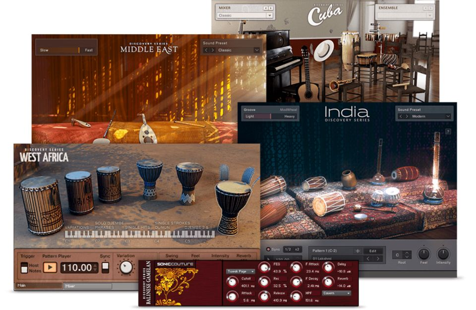 Komplete : World : Discovery Series Collection | Products