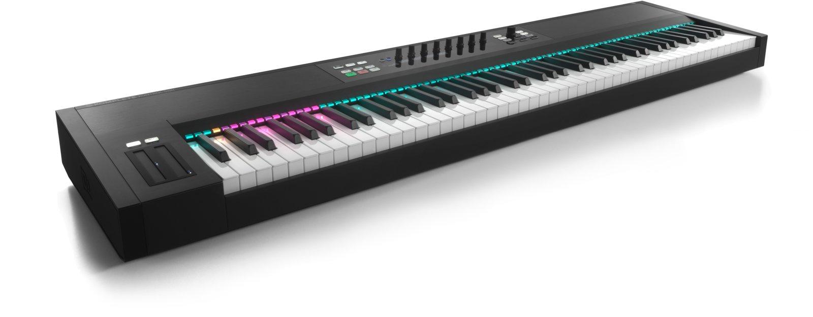 native instruments new 88 key komplete kontrol s series keyboard nks plugin format. Black Bedroom Furniture Sets. Home Design Ideas