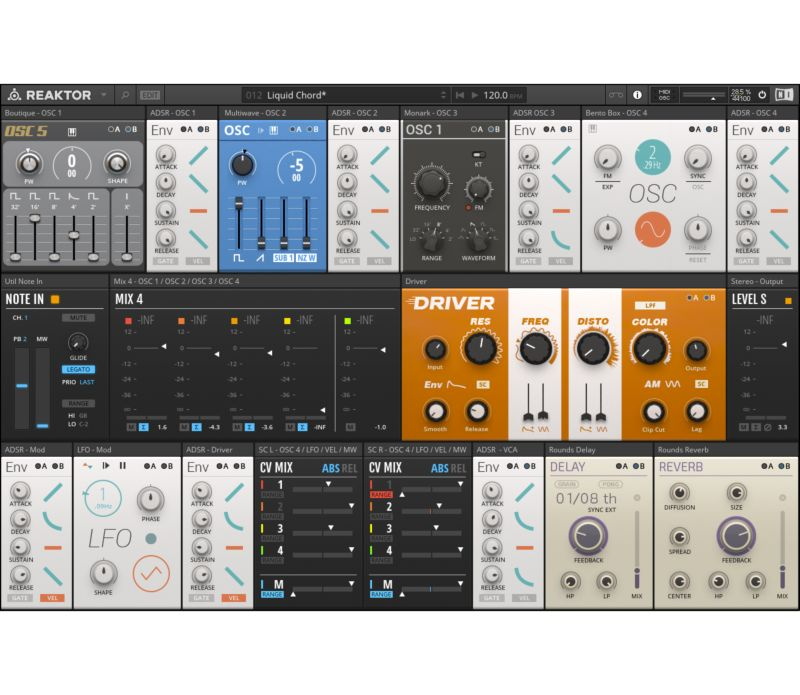 Komplete : Synths : Reaktor 6 : Blocks | Products