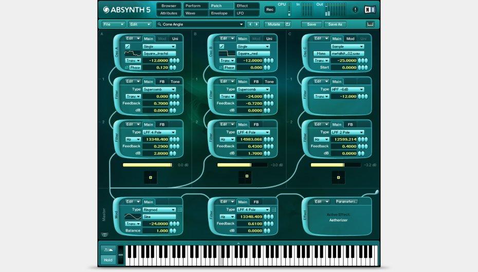 ABSYNTH 5 screenshot