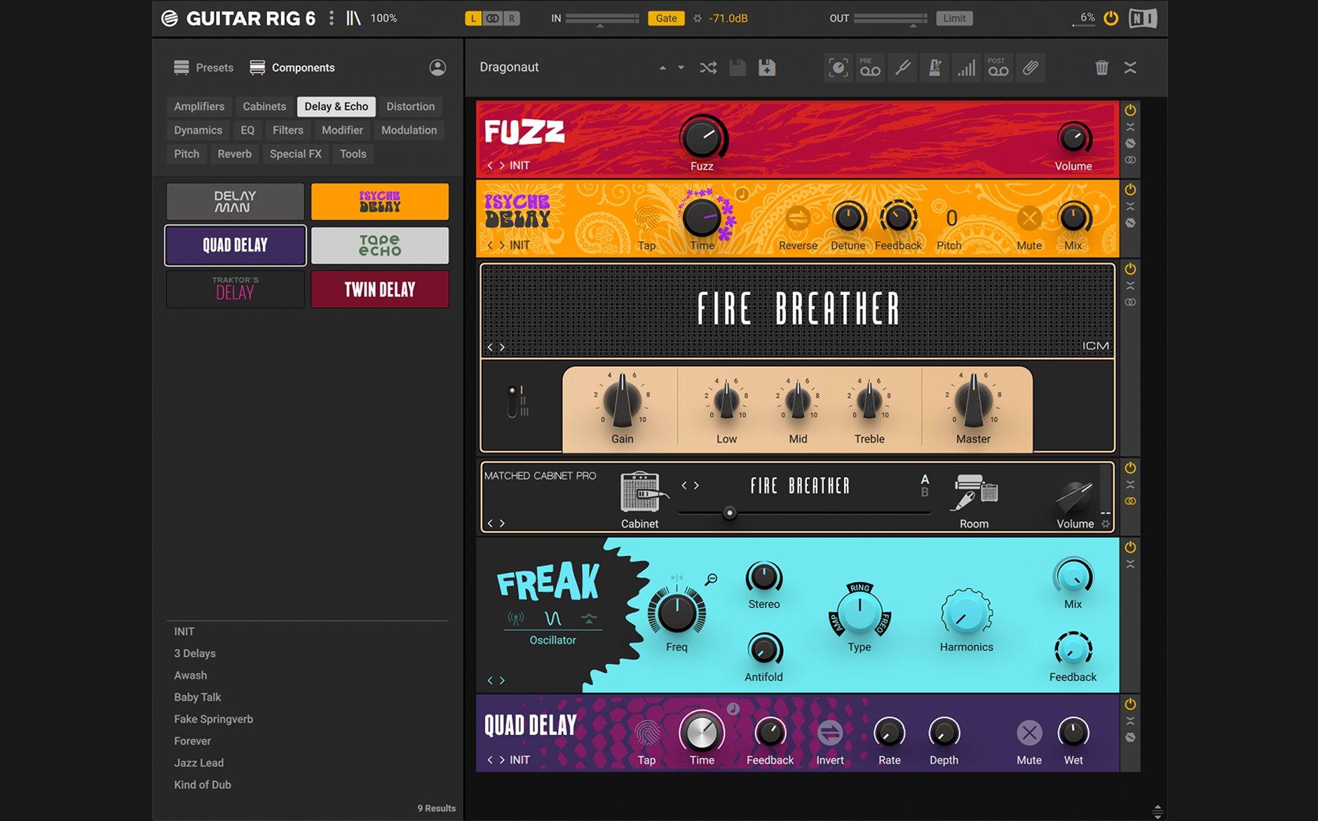 Native Instruments Guitar Rig Pro 6.2.2 Mac 破解版 电吉他软件效果器