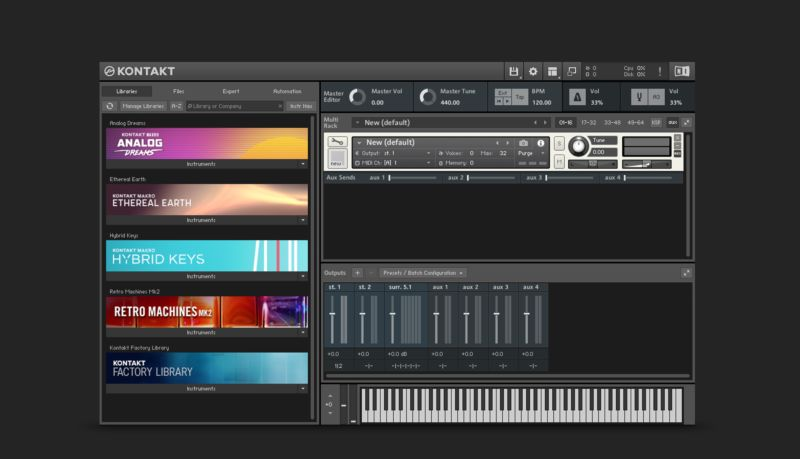 Komplete : Samplers : Kontakt 6 | Products