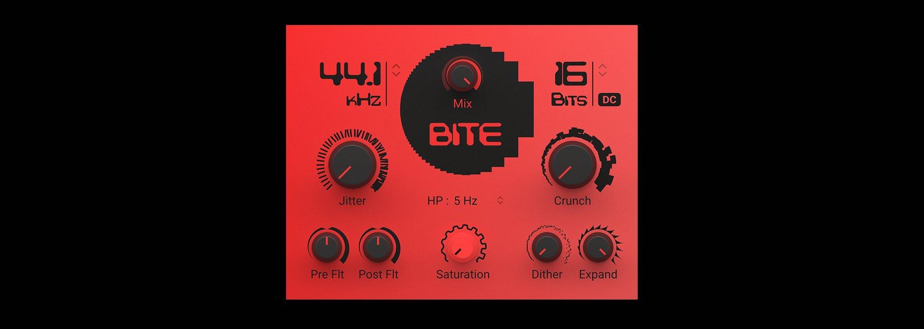 Native Instruments Bite Mac 破解版 Bite效果器插件