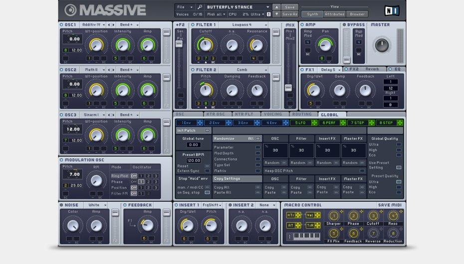 Native Instruments Massive X Mac 破解版 Native Instruments 新旗舰合成器-麦氪派