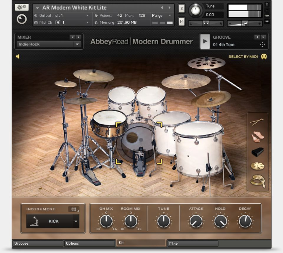 Komplete : Drums : Abbey Road Modern Drummer | Products