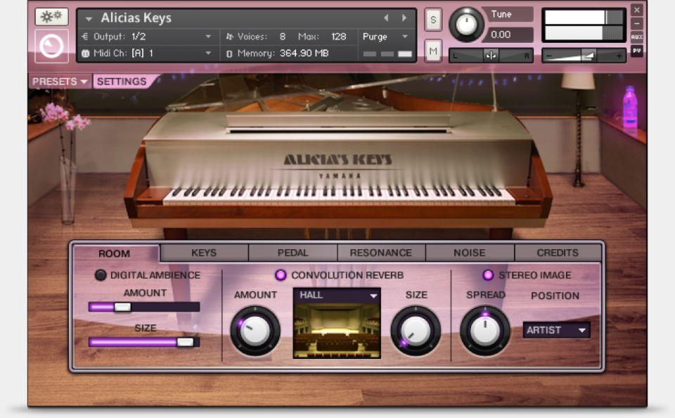 Komplete : Keys : Alicia's Keys | Products