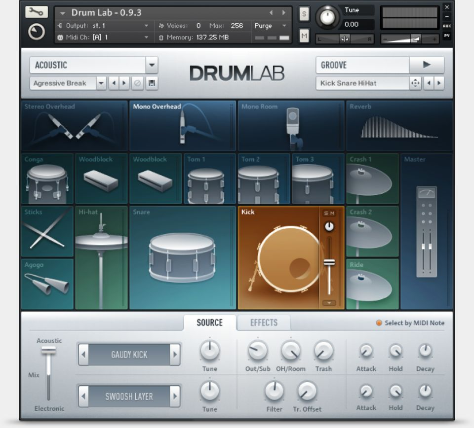 Komplete : Drums : Drumlab | Products