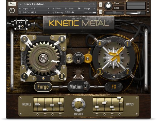 Kinetic Metal license for sale: US$89 00 | NI Community Forum