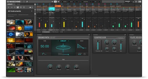 native instruments maschine software