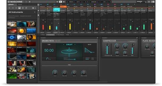 Native Instruments Maschine 2.8.1 Mac 破解版 强大易用的鼓合成器-麦氪派(WaitsUn.com)