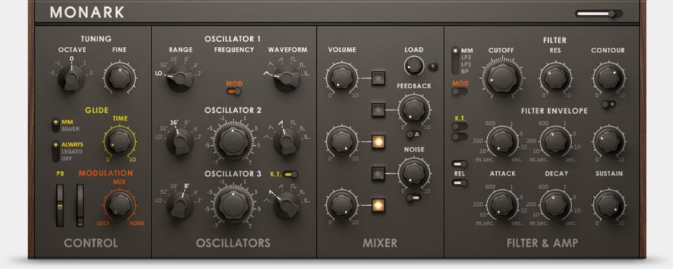 Komplete : Synths : Monark   Products