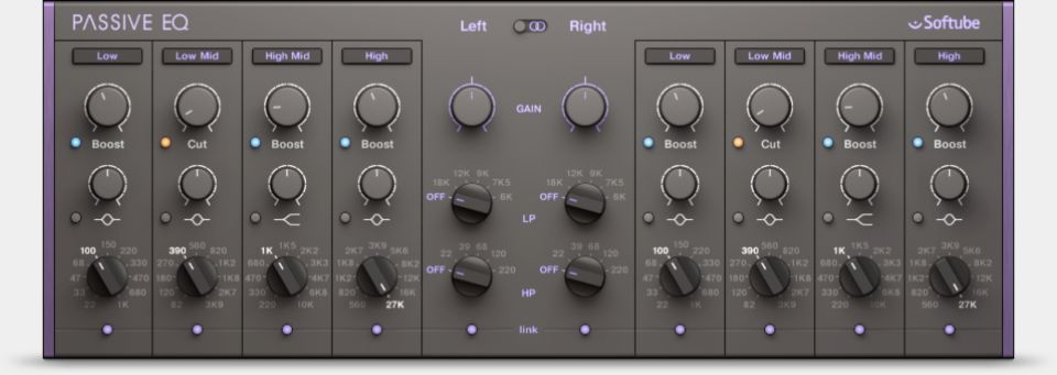 Komplete : Effects : Passive Eq | Products