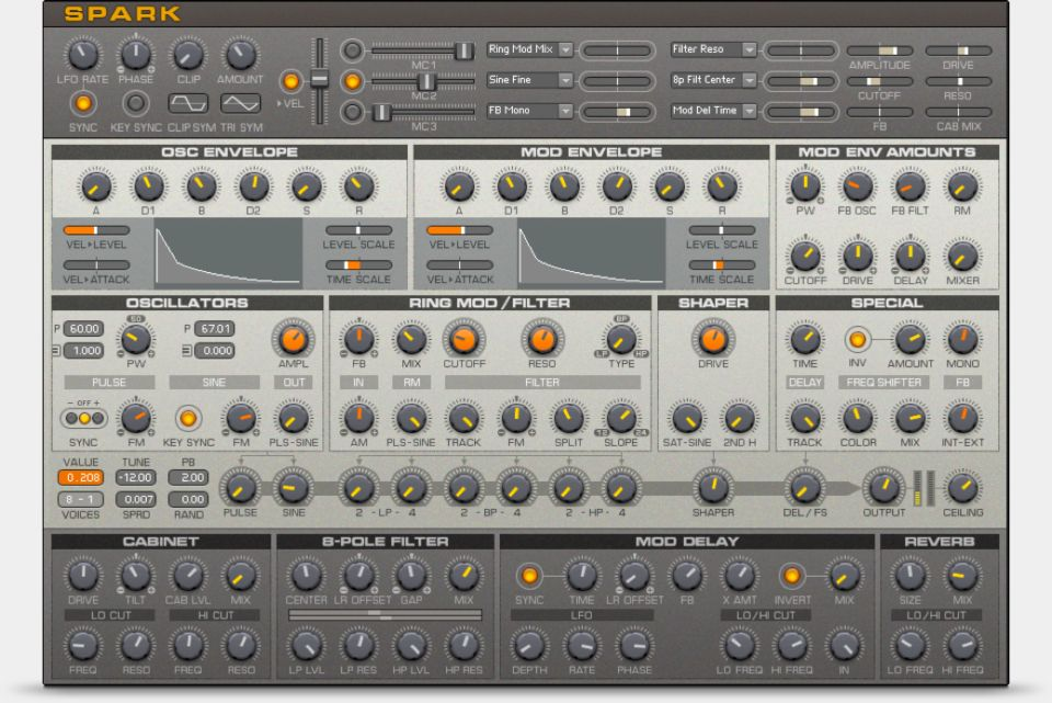 Komplete : Synths : Reaktor Spark   Products
