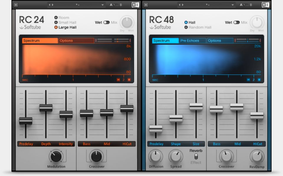 Komplete : Effects : Reverb Classics | Products