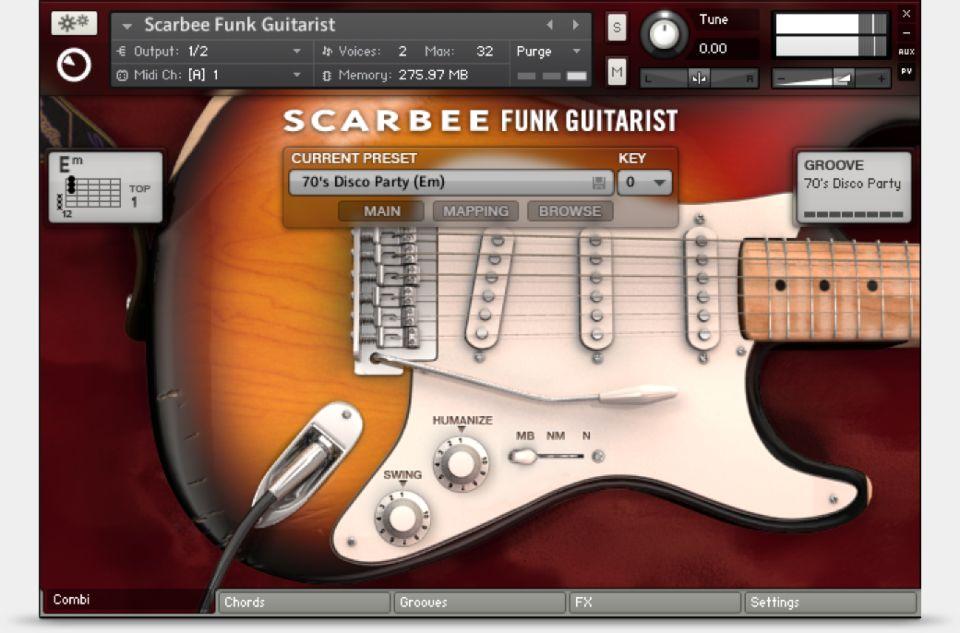 electric guitar kontakt library free