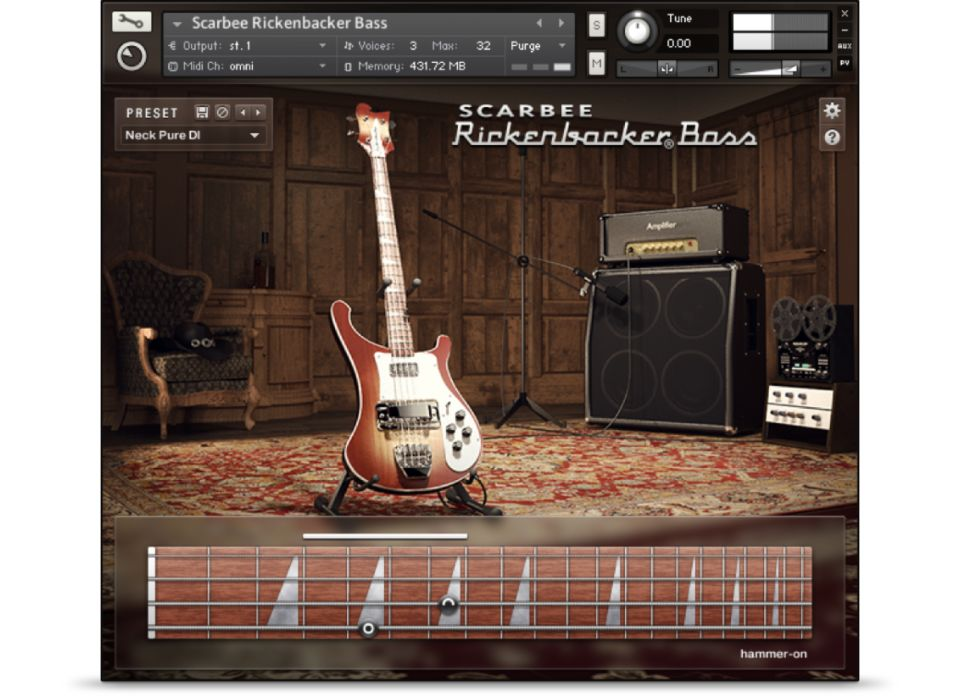 Image result for native instruments scarbee rickenbacker bass