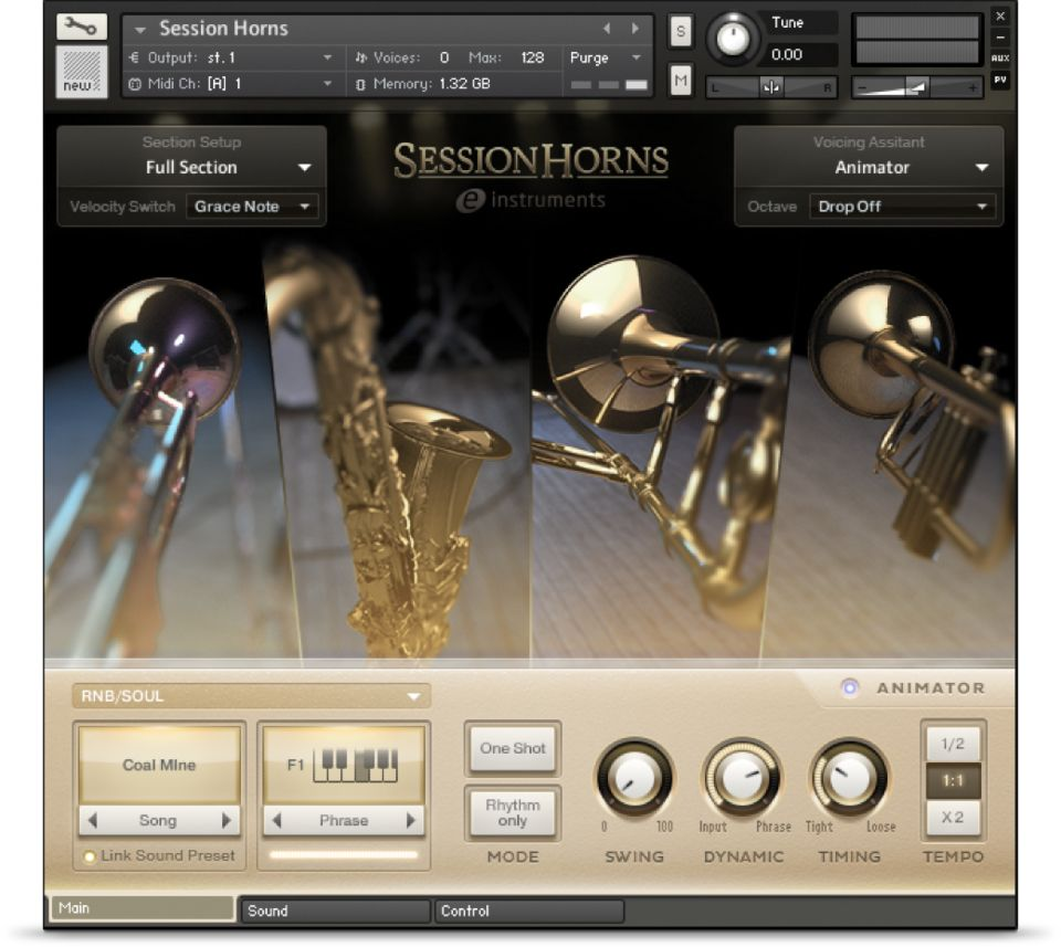Session Horns