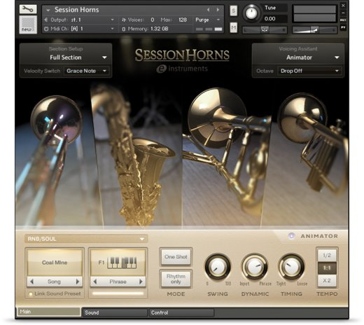 Komplete : Cinematic : Session Horns | Products