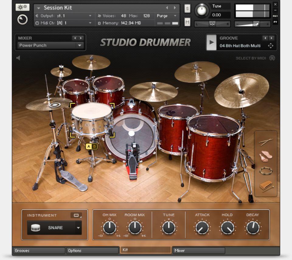 Komplete : Drums : Studio Drummer | Products