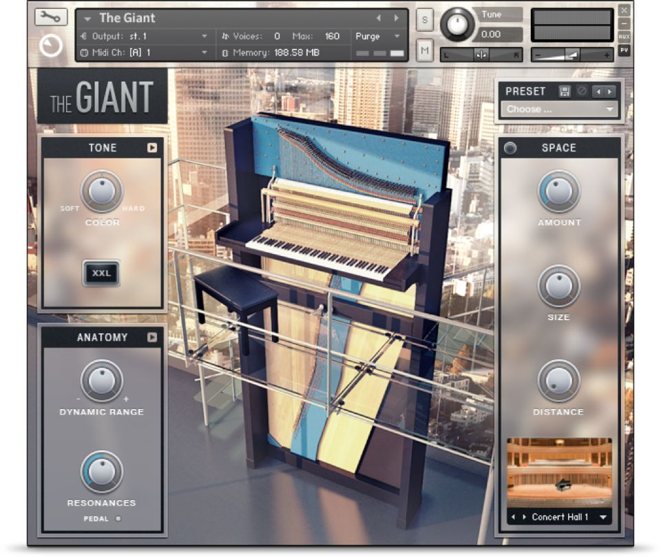 Komplete : Keys : The Giant | Products