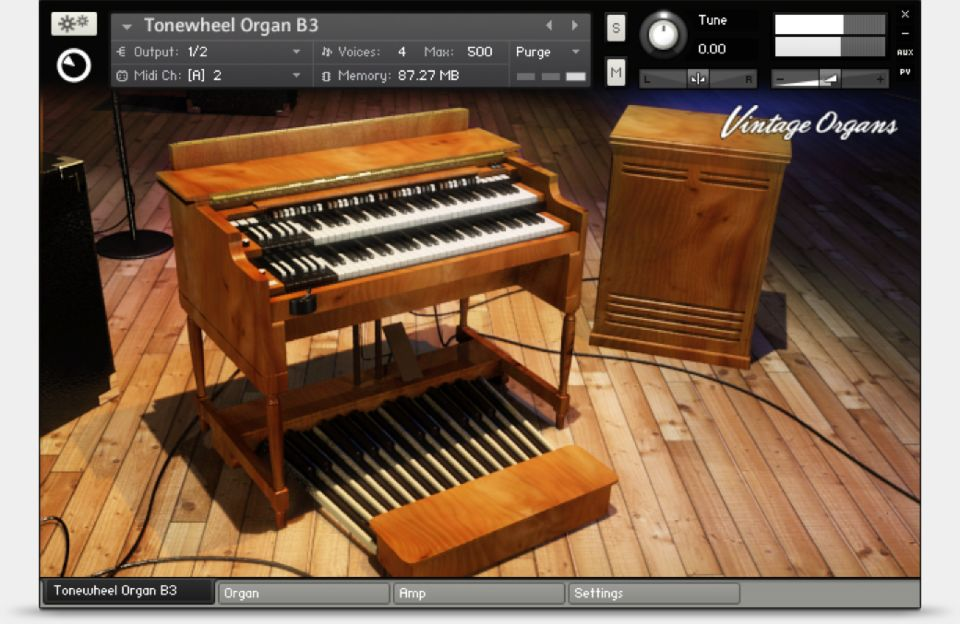 Komplete : Keys : Vintage Organs | Products