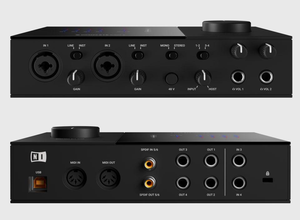Komplete Audio 6 QuickstartNative Instruments