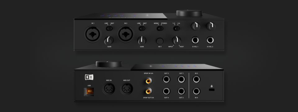 Komplete : Audio Interfaces : Komplete Audio 6 | Products