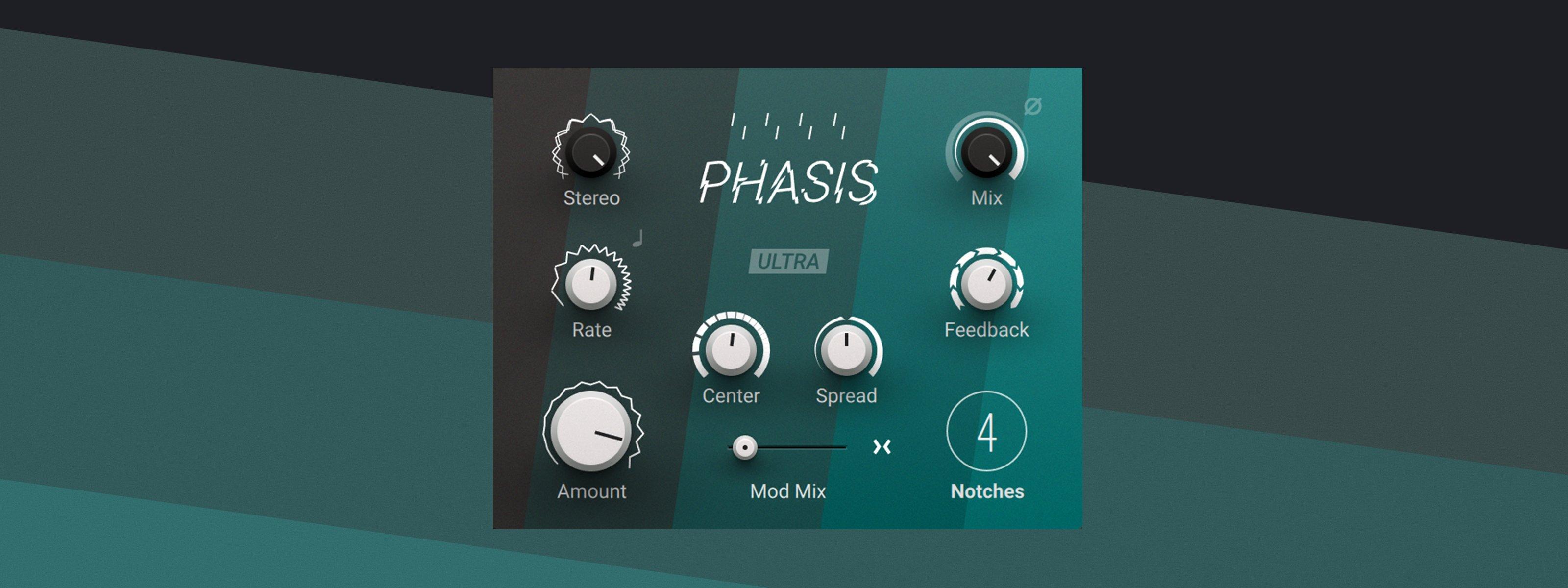 Native Instruments Phasis Mac 破解版 Phaser相位效果器插件-麦氪搜(iMacso.com)