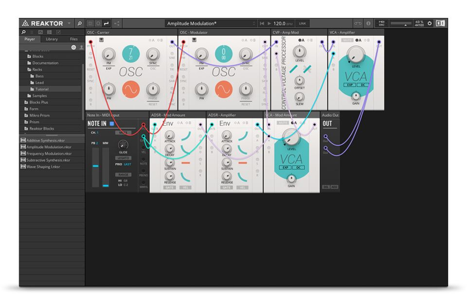 Komplete : Synths : Reaktor 6 Player | Products