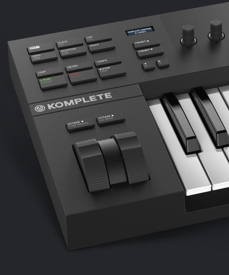 Native Instruments MASCHINE MIKRO MK3 KOMPLETE KONTROL A25Neu